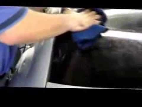 How to tint a complete car Part 2   Tint Pros 216-906-6084