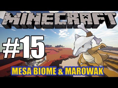 Minecraft Pixelmon Server Adventure Ep15 - Mesa Biome & Marowak! (Pixelmon 3.1.4 Mod)