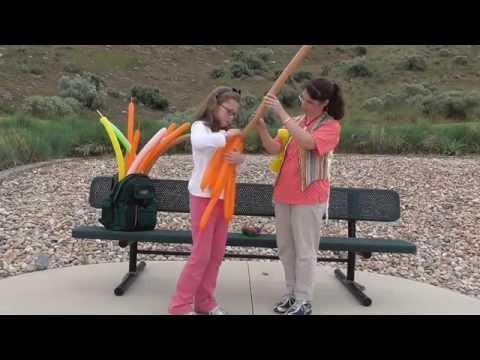 Kids Show Up Balloon Twister