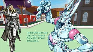 Dirty Deeds Done Dirt Cheap [D4C] Showcase - Roblox Project Jojo