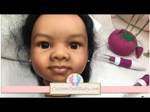 Quick and Easy Reborn Doll Ear Piercing Tutorial