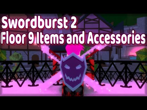 Swordburst 2 All Items and Accessories on Floor 9 l Va'Rok - Roblox
