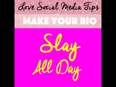 How to Make Your Instagram Bio Stand Out