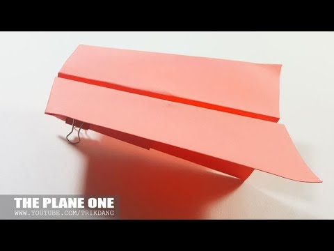 SIMPLE PAPER AIRPLANE - How to make a Paper Airplane | One