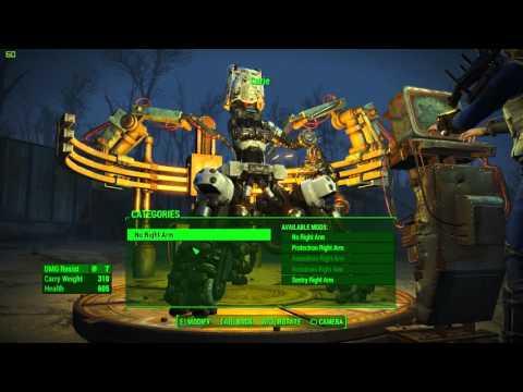 Fallout 4 Automaton Robot Building