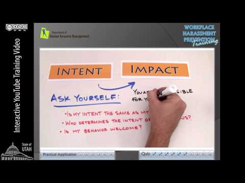 Workplace Harassment Prevention Training (IYTV-7)