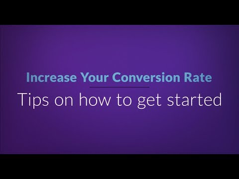 How to increase sales with Conversion Rate Optimization