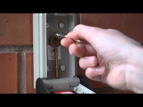 How to use the Supra C500 Police accredited key safe