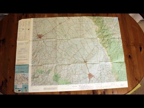 How to read a 14 figure Grid Reference from a Topographic Map