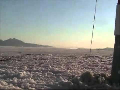GusGus Streamliner Salt flats record car using Wizards of NOS system