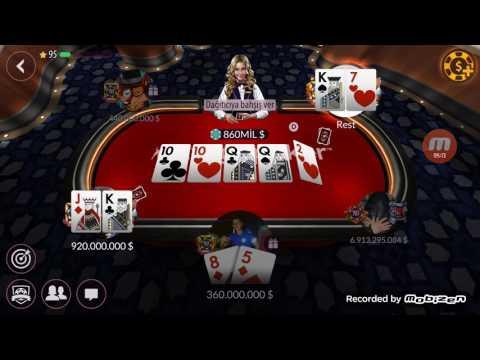 Zynga Poker 20M/40M 4B Winner..Abone Olursanız Daha Fazlası Gelecektir