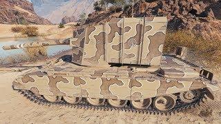 WoT AMX ELC bis (YodaSchlumpf skin) | 4 400+ DMG | 8 kills