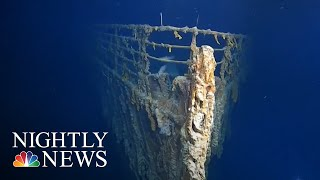 Download First Images Of Titanic Wreckage In More Than 10 Years Show Rapid Erosion | NBC Nightly News Video