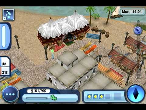 The Sims 3 World Adventures iPhone - Game Play Video