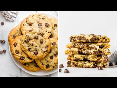 Bakery Style Chocolate Chip Cookie Recipe
