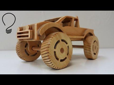 Making a Wooden Monster Truck