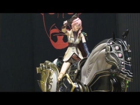 Final Fantasy XIII Play Arts ODIN: EmGo's Final Fantasy Reviews N' Stuff