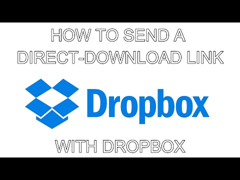 Send A Direct-Download Link With Dropbox