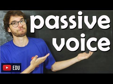 Voz Passiva (Passive Voice) - Aula de Inglês #106