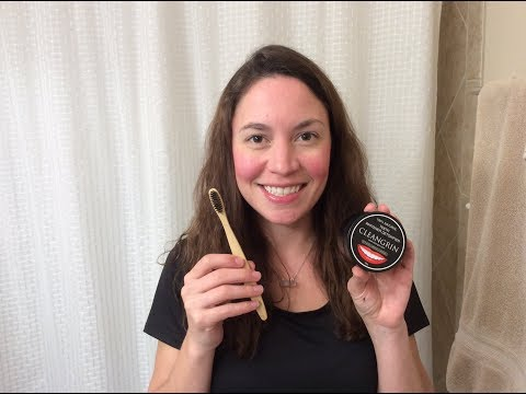 Activated Charcoal Powder & Bamboo toothbrush Review