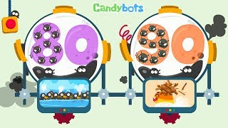 Candybots Numbers 123 - Learn counting 80 to 90 number - Education Apps for Kids