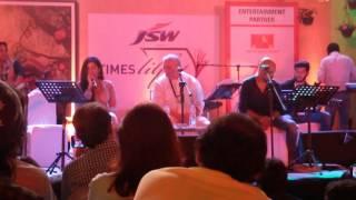 O Sakhi Sun Live At Times Lit Fest Gulzar Shantanu Moitra Shreya Ghoshal