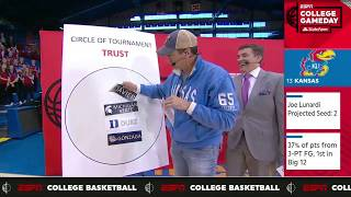 Ron Riggle shows love for the Kansas Jayhawks   College GameDay   ESPN