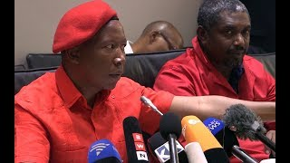 Malema on dissolution of Parliament and EFF's Sona plans