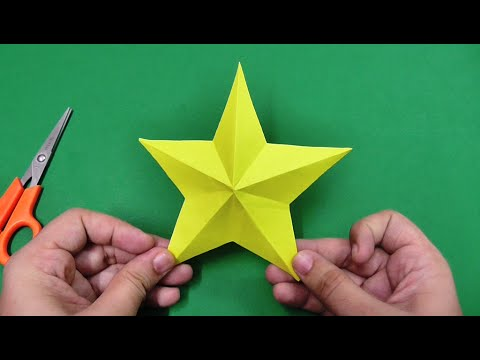 How to make simple & easy paper star | DIY Paper Craft Ideas, Videos & Tutorials.