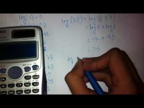 logarithm tecniques without calculator in bangla(suitable for varsity admission test)