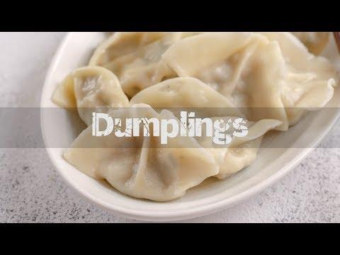 How to Make Dumplings (饺子Jiaozi)
