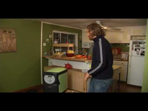 Composting full cycle using a NatureMill