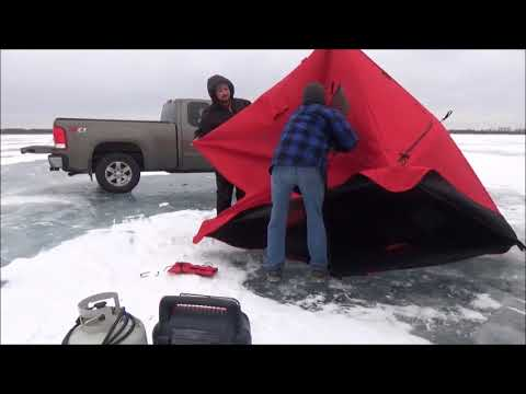 ICE FISHING 2018. Trying for more Northern Pike.