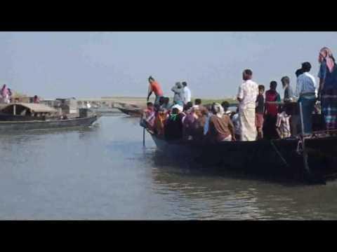 Balashi ghat gaibandha | Journey by boat | Vulnerable area of Gaibandha