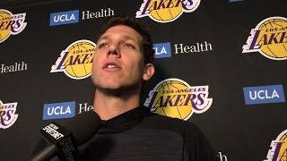 Luke Walton talks Lakers
