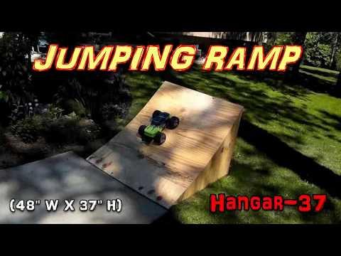 RC JUMPING RAMP - PLYWOOD