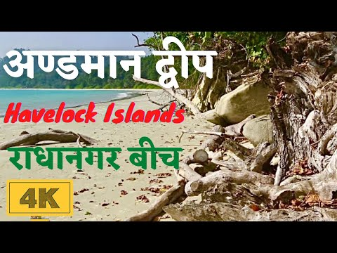 Andaman and Nicobar Islands in 4K - India's Best Radhanagar Beach Havelock Islands