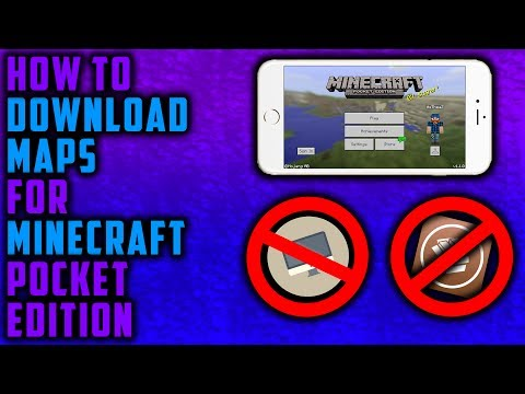 How to download Maps in Minecraft Pocket Edition on iOS (No Jailbreak, No Computer)