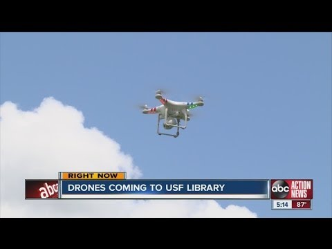 USF to offer drone check-outs to students