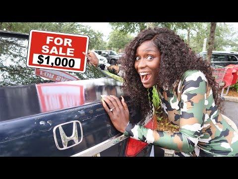 SELLING YOUR CAR FOR $1,000 (REVENGE PRANK)