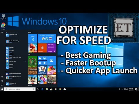 How to Speed Up Your Windows 10 Performance (Best Settings for Gaming - Free & Easy) 2018