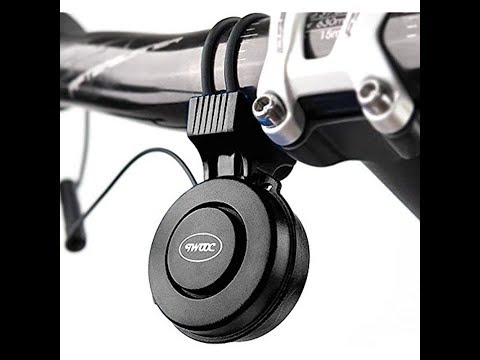 The Rechargeable T-002 120DB Cycling Bicycle Electric Horn Instructions And Review