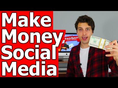 How to Make Money on Social Media (Facebook, Twitter, Pinterest, YouTube)