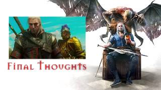 WITCHER 3: Blood and Wine - FINAL THOUGHTS