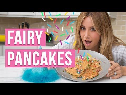 Fairy Pancakes | Girls Night In | Ashley Tisdale