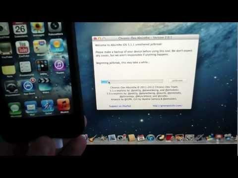 Jailbreak Untethered iOS 5.1.1 iPhone 4S/4/3GS, iPod Touch 4G/3G, iPad 3/2/1 - Absinthe 2.0.1