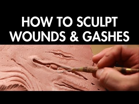 How to Sculpt Wounds & Gashes