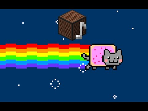 Nyan Cat Theme Song - Minecraft Noteblocks