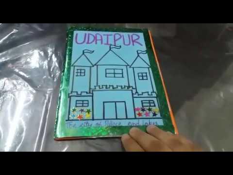 How to make travel brochure - School ideas!!