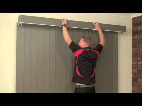 How to Install a Face Fit Pelmet on a Vertical Blind